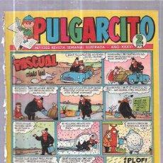 Tebeos: TEBEO PULGARCITO. Nº1352 REVISTA SEMANAL ILUSTRADA. AÑO XXXVI.. Lote 62809952
