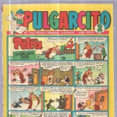 Tebeos: TEBEO PULGARCITO. Nº1353 REVISTA SEMANAL ILUSTRADA. AÑO XXXVI.. Lote 62810136