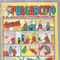 Tebeos: TEBEO PULGARCITO. Nº1354 REVISTA SEMANAL ILUSTRADA. AÑO XXXVI.. Lote 62810192