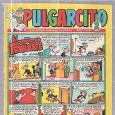 Tebeos: TEBEO PULGARCITO. Nº1358. REVISTA SEMANAL ILUSTRADA. AÑO XXXVI.. Lote 62810312