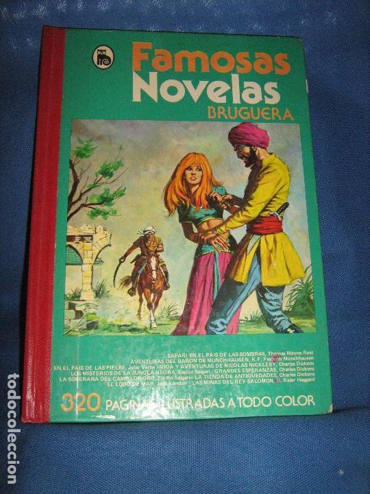 FAMOSAS NOVELAS DE BRUGUERA - VOLUMEN XII (Tebeos y Comics - Bruguera - Otros)