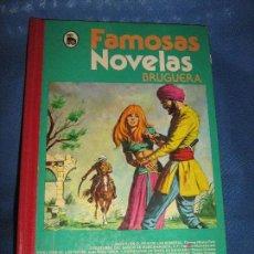 Tebeos: FAMOSAS NOVELAS DE BRUGUERA - VOLUMEN XII. Lote 62850992