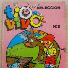Tebeos: TIO VIVO 5 SELECCIÓN NÚMEROS 13, 14, 15 Y 16 EDICIONES B GRUPO Z BRUGUERA AÑO 1986 144 PÁGINAS. Lote 62973568