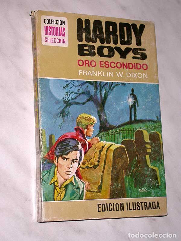 HARDY BOYS Nº 5. ORO ESCONDIDO. FRANKLIN W. DIXON. LENCINAS. BRUGUERA, 1976. HISTORIAS SELECCIÓN. ++ (Tebeos y Comics - Bruguera - Historias Selección)