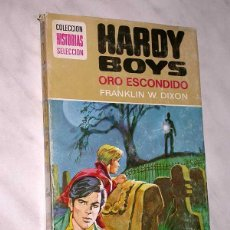 Tebeos: HARDY BOYS Nº 5. ORO ESCONDIDO. FRANKLIN W. DIXON. LENCINAS. BRUGUERA, 1976. HISTORIAS SELECCIÓN. ++. Lote 63268448