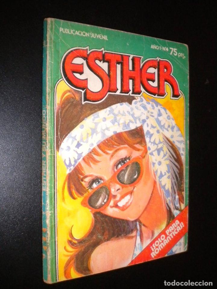 ESTHER AÑO 1 NUMERO 4 / PUBLICACION JUVENIL / ESTHER Y SU MUNDO, EL COMPROMISO DE RITA (Tebeos y Comics - Bruguera - Esther)