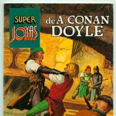 Tebeos: SUPER JOYAS - Nº 57 - A. CONAN DOYLE - ED. BRUGUERA - 1ª EDICIÓN - 1984. Lote 38227812