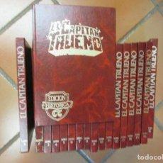 Tebeos: CAPITAN TRUENO - REEDICION DE BSA - 1987 - 18 TOMOS COMPLETA, EXCELENTE + INFO. Lote 63424664