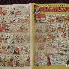 Tebeos: PULGARCITO 1947 BRUGUERA EL 11 ONCE ESTADO BIEN PARA EDAD MAROTO VER FOTOS CJ 13. Lote 63488488