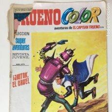 Tebeos: EL CAPITAN TRUENO JAITOK EL CRUEL TRUENO COLOR Nº278. Lote 63583432