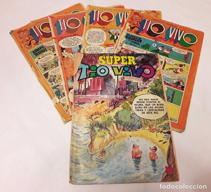 TIO VIVO. 1 SUPER TIO VIVO Y 4 NÚMEROS (Tebeos y Comics - Bruguera - Tio Vivo)
