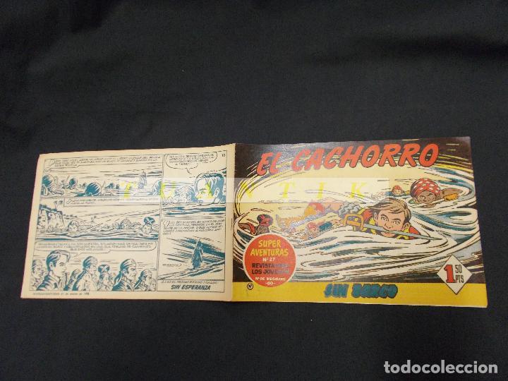EL CACHORRO - Nº 167 - SIN BARCO - IRANZO - ORIGINAL - BRUGUERA - (Tebeos y Comics - Bruguera - El Cachorro)