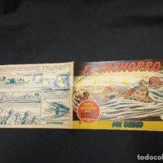Tebeos: EL CACHORRO - Nº 167 - SIN BARCO - IRANZO - ORIGINAL - BRUGUERA -. Lote 63911171