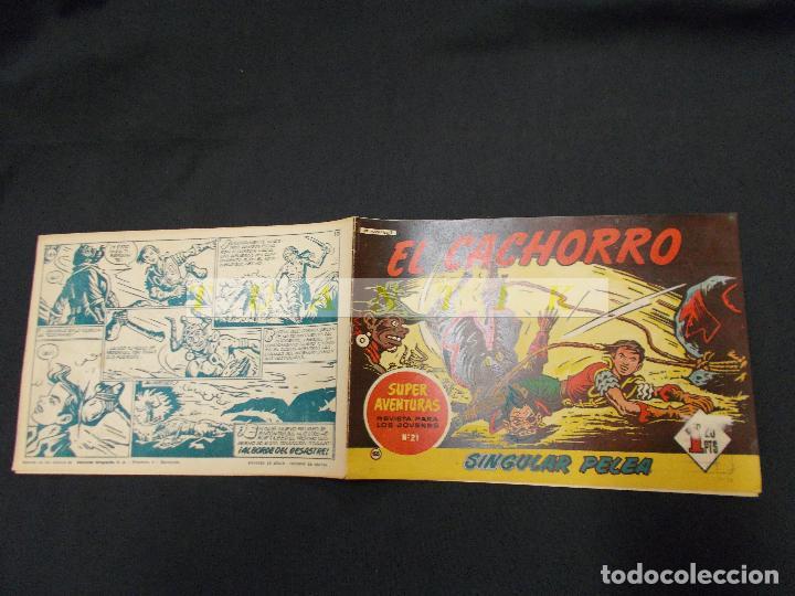 EL CACHORRO - Nº 165 - SINGULAR PELEA - IRANZO - ORIGINAL - BRUGUERA - (Tebeos y Comics - Bruguera - El Cachorro)