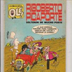 Tebeos: OLÉ!. RIGOBERTO PICAPORTE. Nº 7. (NÚMERO EN EL LOMO) BRUGUERA. 1ª EDICIÓN 1971. (MA)C/6. Lote 63931295