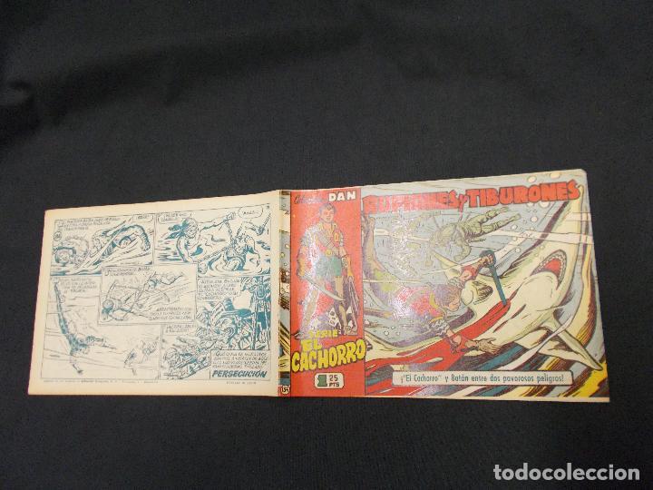 EL CACHORRO - Nº 134 - RUFIANES Y TIBURONES - IRANZO - ORIGINAL - BRUGUERA - (Tebeos y Comics - Bruguera - El Cachorro)