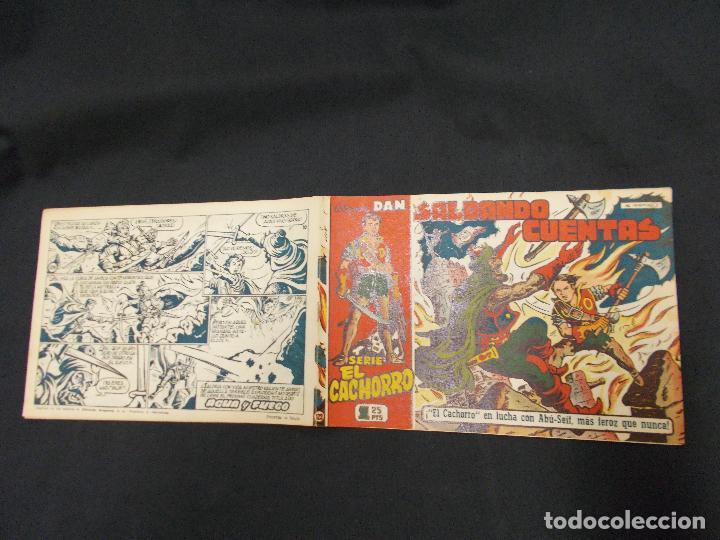 EL CACHORRO - Nº 129 - SALDANDO CUENTAS - IRANZO - ORIGINAL - BRUGUERA - (Tebeos y Comics - Bruguera - El Cachorro)