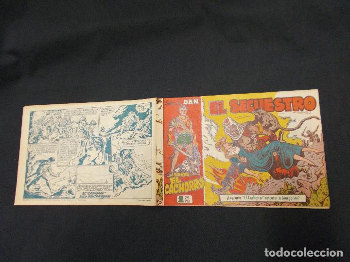 EL CACHORRO - Nº 124 - EL SECUESTRO - IRANZO - ORIGINAL - BRUGUERA - (Tebeos y Comics - Bruguera - El Cachorro)