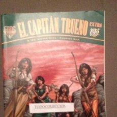 Tebeos: CAPITÁN TRUENO EXTRA 20: LAS AMAZONAS DE ZANIA. LA NIEBLA AZUL. LA ESPADA SUMERGIDA.. Lote 63900107