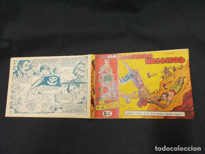 EL CACHORRO - Nº 113 - SALTANDO ABISMOS - IRANZO - ORIGINAL - BRUGUERA - (Tebeos y Comics - Bruguera - El Cachorro)