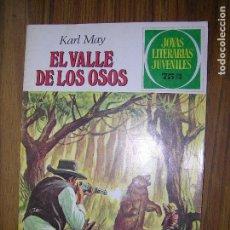 Tebeos: JOYAS LITERARIAS EL VALLE DE LOS OSOS Nº141. Lote 64034807