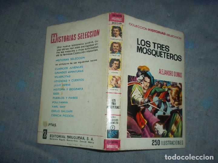 TOMO LOS TRES MOSQUETEROS ALEJANDRO DUMAS COLECCION HISTORIAS SELECCION AÑO 1973 (Tebeos y Comics - Bruguera - Historias Selección)