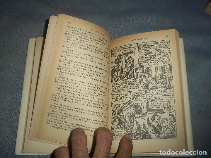 Tebeos: TOMO LOS TRES MOSQUETEROS ALEJANDRO DUMAS COLECCION HISTORIAS SELECCION AÑO 1973 - Foto 2 - 64052019