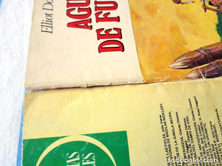 Tebeos: nº 15 Agua de fuego Joyas Literarias juveniles Bruguera 1972 Elliot Dooley Cómic libro - Foto 3 - 64121803