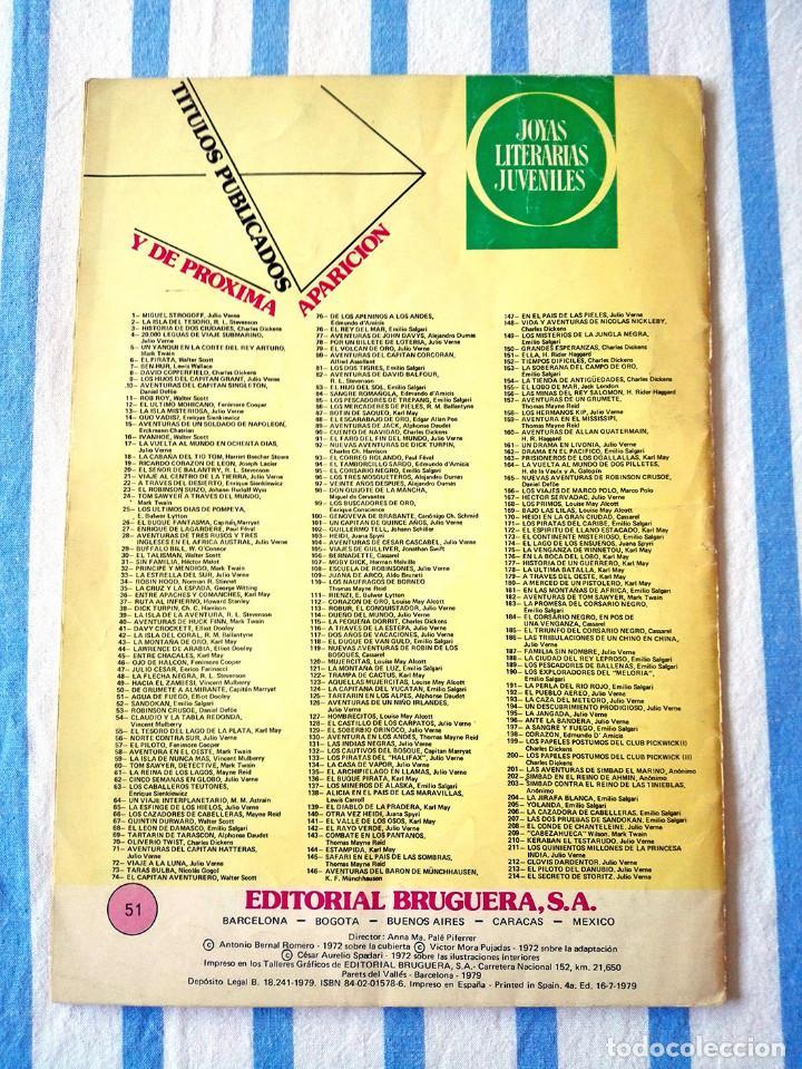 Tebeos: nº 15 Agua de fuego Joyas Literarias juveniles Bruguera 1972 Elliot Dooley Cómic libro - Foto 5 - 64121803