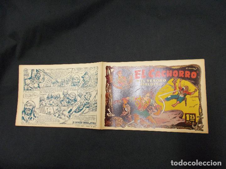EL CACHORRO - Nº 40 - Y EL TESORO MALDITO - IRANZO - ORIGINAL - BRUGUERA - (Tebeos y Comics - Bruguera - El Cachorro)