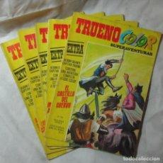 Tebeos: 5 NÚMEROS DEL CAPITÁN TRUENO COLOR EXTRA BRUGUERA. Lote 64347511