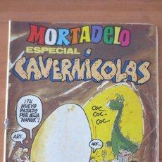 Tebeos: MORTADELO ESPECIAL CAVERNICOLAS. Lote 64362203
