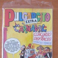 Tebeos: PULGARCITO EXTRA DE CARNAVAL. Lote 64369079