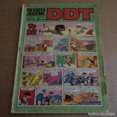 Tebeos: DDT Nº 186. AÑO XX, III EPOCA. BRUGUERA 1971. LITERACOMIC.. Lote 64531979