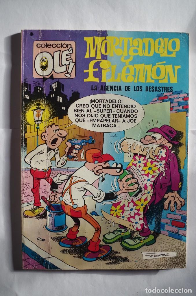 MORTADELO Y FILEMON Nº 89 LA AGENCIA DE LOS DESASTRES - OLE - BRUGUERA - AÑO 1978 (Tebeos y Comics - Bruguera - Mortadelo)