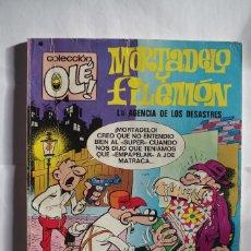 Tebeos: MORTADELO Y FILEMON Nº 89 LA AGENCIA DE LOS DESASTRES - OLE - BRUGUERA - AÑO 1978 . Lote 64651399