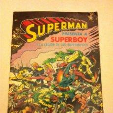 Tebeos: SUPERMAN (PRESENTA A SUPERBOY). Lote 64716783