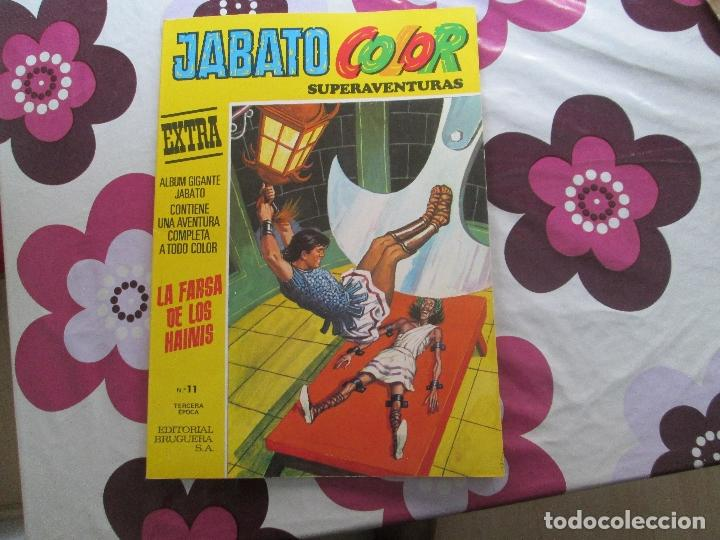 JABATO COLOR EXTRA Nº 11 TERCERA EPOCA (Tebeos y Comics - Bruguera - Jabato)