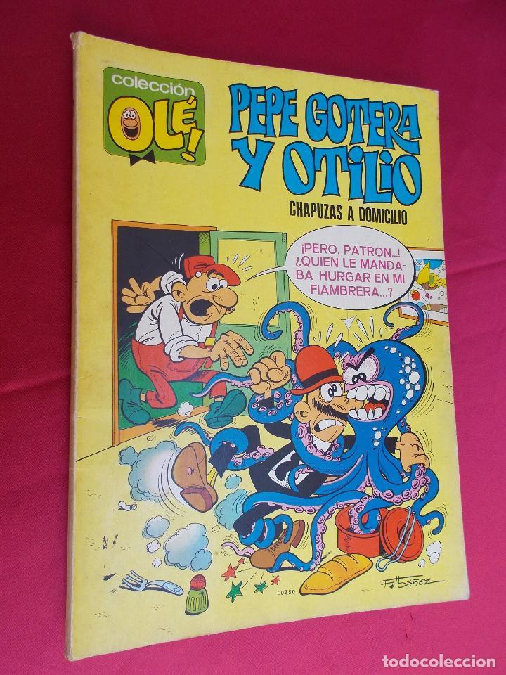 COLECCIÓN OLÉ. Nº 1.PEPE GOTERA Y OTILIO. CHAPUZAS A DOMICILIO. BRUGUERA. 1971. 1ª EDICION. (Tebeos y Comics - Bruguera - Ole)
