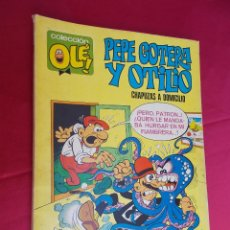 Tebeos: COLECCIÓN OLÉ. Nº 1.PEPE GOTERA Y OTILIO. CHAPUZAS A DOMICILIO. BRUGUERA. 1971. 1ª EDICION.. Lote 64849803