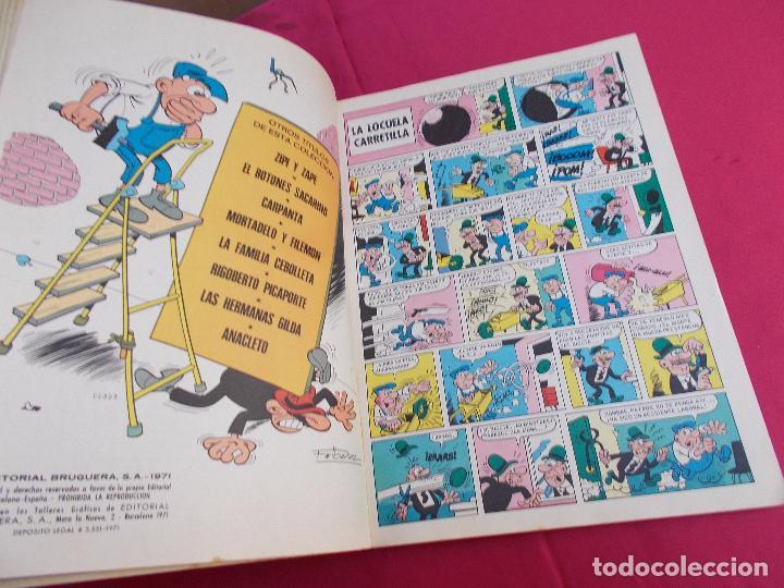 Tebeos: COLECCIÓN OLÉ. Nº 1.PEPE GOTERA Y OTILIO. CHAPUZAS A DOMICILIO. BRUGUERA. 1971. 1ª EDICION. - Foto 3 - 64849803