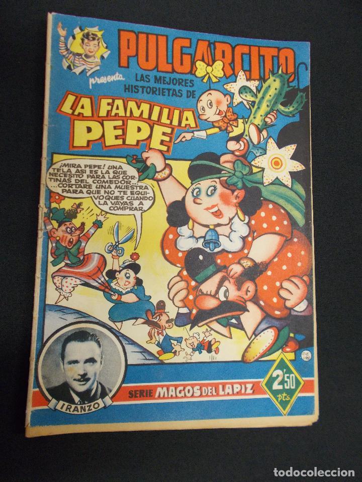 SERIE MAGOS DEL LAPIZ - LA FAMILIA PEPE - IRANZO - BRUGUERA - (Tebeos y Comics - Bruguera - Pulgarcito)