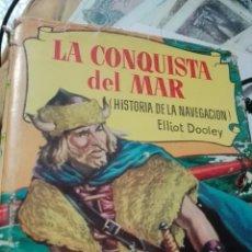 Tebeos: LA CONQUISTA DEL MAR, BRUGUERA 1 EDICIÓN. Lote 65745939