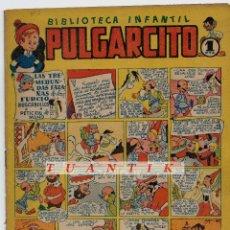 Tebeos: PULGARCITO - Nº 5 - ORIGINAL - BRUGUERA - 1947. Lote 65747982
