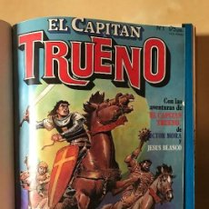 Tebeos: CAPITAN TRUENO BRUGUERA 1986 NUM 1-12 ENCUADERNADO. Lote 65767470