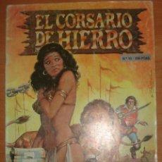 Tebeos: EL CORSARIO DE HIERRO. EL CIRCO BAMBADABUM. EDICIÓN HISTÓRICA. Nº 10. . Lote 65945774