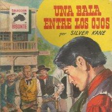 Tebeos: NOVELA DEL OESTE DE SILVER KANE , SERIE BISONTE Nº 454 ¡ EDITORIAL BRUGUERA ¡. Lote 65983442