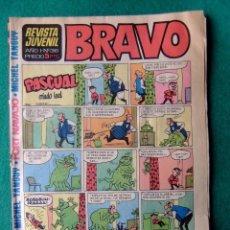 Tebeos: REVISTA BRAVO Nº 36 EDITORIAL BRUGUERA. Lote 65992474