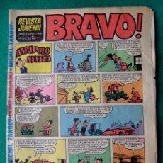 Tebeos: REVISTA BRAVO Nº 39 EDITORIAL BRUGUERA. Lote 65992562