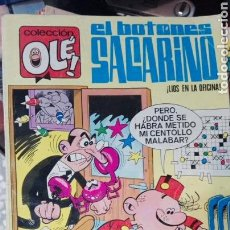 Tebeos: OLE EL BOTONES SACARINO 132, 1977. Lote 65997817